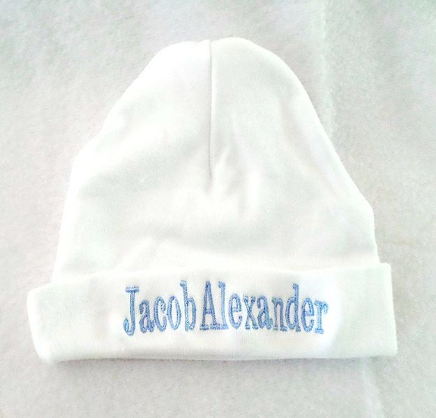 0d2927aac Personalised Baby Hat